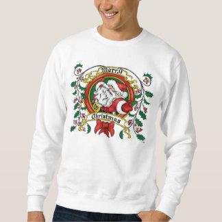 Merry Christmas Wreath Sweatshirt