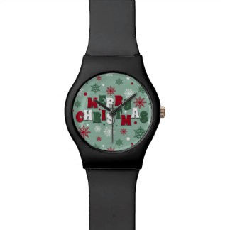 Merry Christmas Wrist Watches