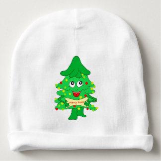 Merry Christmas Xmas Tree Baby Beanie