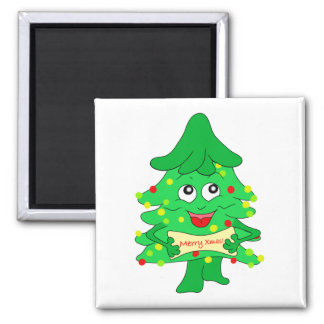 Merry Christmas Xmas Tree Magnet