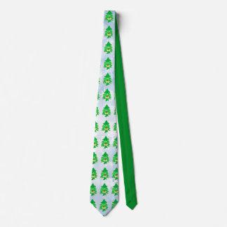Merry Christmas Xmas Tree Tie