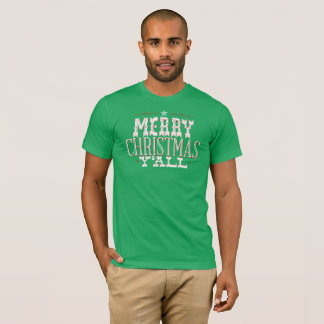 Merry Christmas Y'all Funny Texas Christmas Shirt