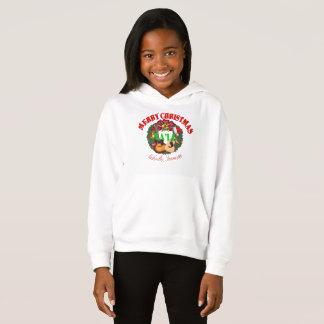 Merry Christmas Yall Girls Hoodie