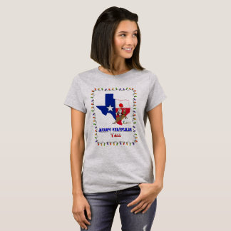 Merry Christmas Y'All Texas Style T-Shirt