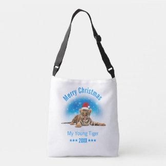 Merry Christmas | Young Tiger Gift Crossbody Bag