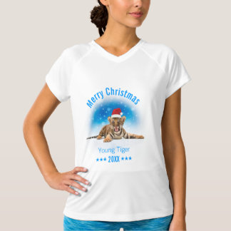 Merry Christmas | Young Tiger Gift T-Shirt