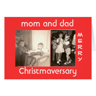 Merry Christmaversary Card