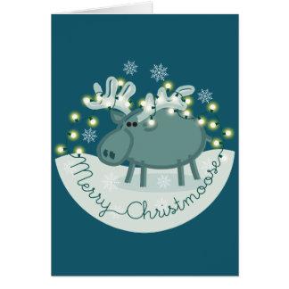 Merry Christmoose Card