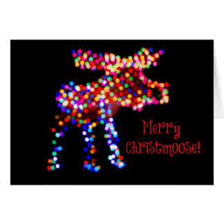Merry Christmoose! Holiday Card