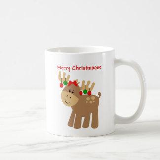 Merry Christmoose mug