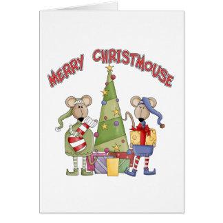 Merry Christmouse Card