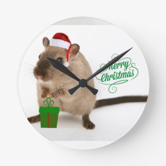 Merry Christmouse Clocks