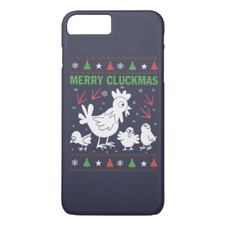 Merry Cluckmas iPhone 7 Plus Case