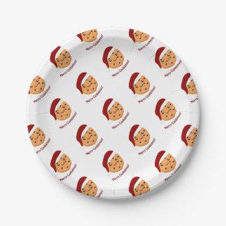 Merry Cookiemas 7 Inch Paper Plate