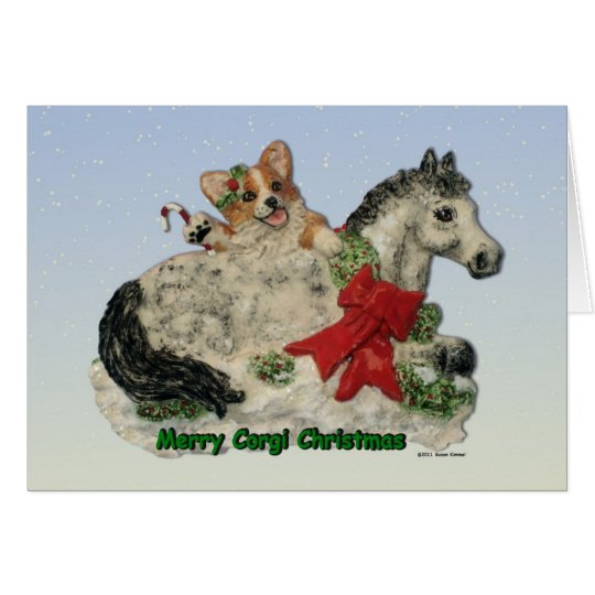 Merry Corgi Christmas! Card