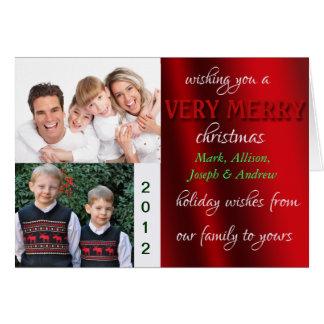 Merry Cristmas Photo Card