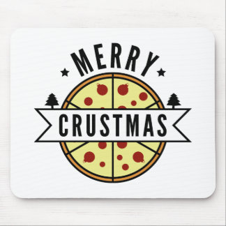 Merry Crustmas Mouse Pad
