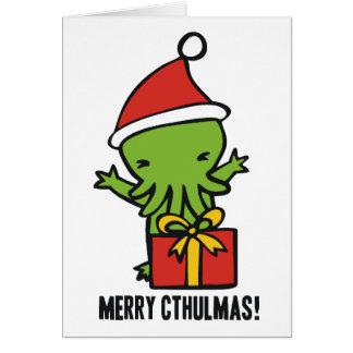 Merry Cthulmas Card