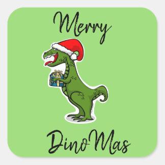 Merry DinoMas Sticker