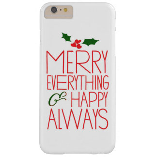 Merry Everything and Happy Always Tech Case
