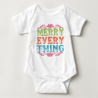 Merry Everything Baby Bodysuit