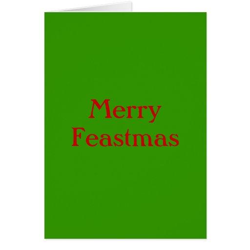Merry Feastmas Card