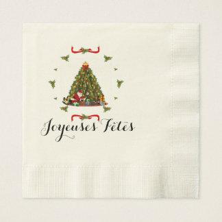 Merry Festivals Disposable Napkin