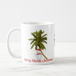 Merry Florida Christmas Coffee Mug