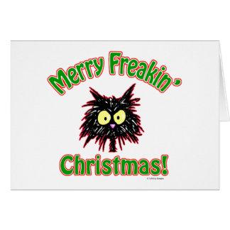 Merry Freakin' Christmas Cards