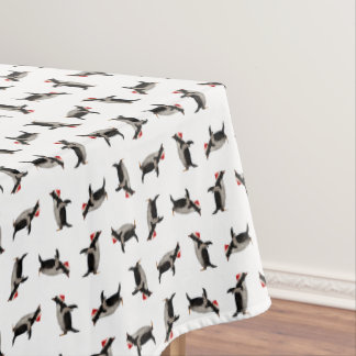 Merry Gentoos Tablecloth (choose colour)