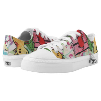 Merry go horsie by Laila Cichos Low-Top Sneakers