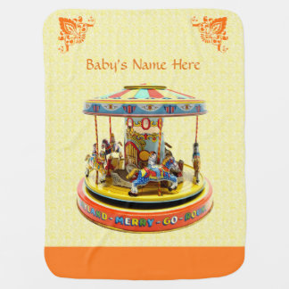 Merry-Go-Round Baby Blanket