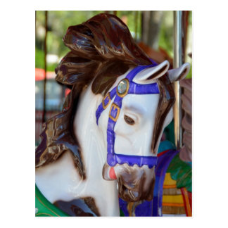 Merry-Go-Round horse Postcard