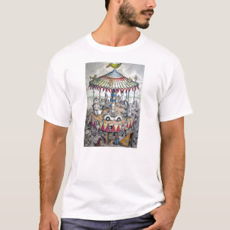 Merry-go-round with clowns T-Shirt