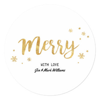 Merry (Gold) Card