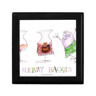 merry haggis gift box