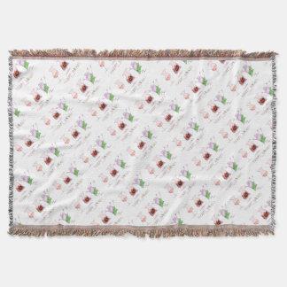 merry haggis throw blanket