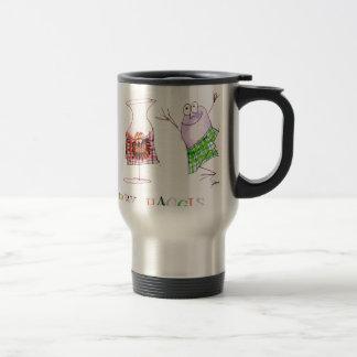 merry haggis travel mug