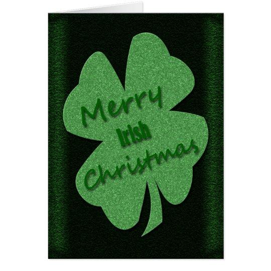 Merry Irish Christmas Card
