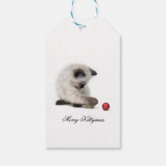 Merry Kittymas gift tag Pack Of Gift Tags