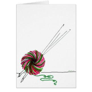 Merry Knitmas Notecard
