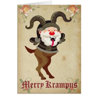 Merry Krampus Holiday Card