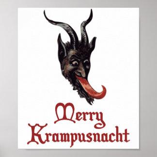 Merry Krampusnacht Poster