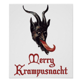 Merry Krampusnacht Posters