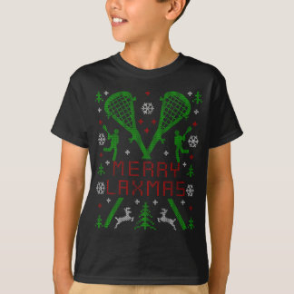 MERRY LAXMAS LACROSSE UGLY CHRISTMAS SWEATER LAX