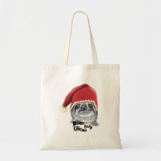 Merry Lazy Christmas Tote Bag