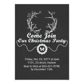 Merry Little Christams Holiday Party Invitation