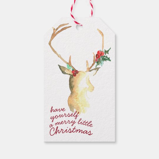 Merry Little Christmas Gift Tag