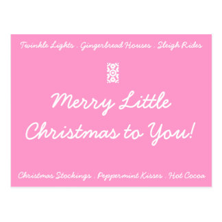 MERRY LITTLE CHRISTMAS Postcard