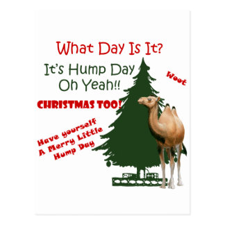Merry Little Hump Day Christmas Postcards